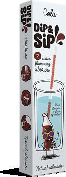 Dip&Sip szívószál|Dip&Sip straw