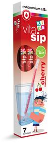 Magnéziumot és B6-vitamint tartalmazó, cukormentes, cseresznyeízű étrend-kiegészítő készítmény